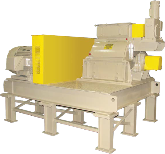 Grinder machines user for rubber and plastic grinding.