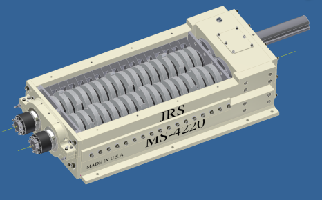 3D model of MS-4220 Shredder designed in Autodesk Inventor